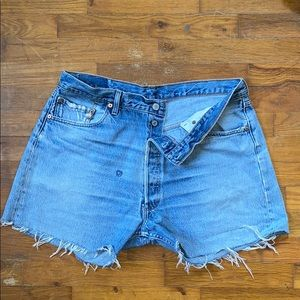 Levi's Cutoff Shorts - the best you'll EVER wear